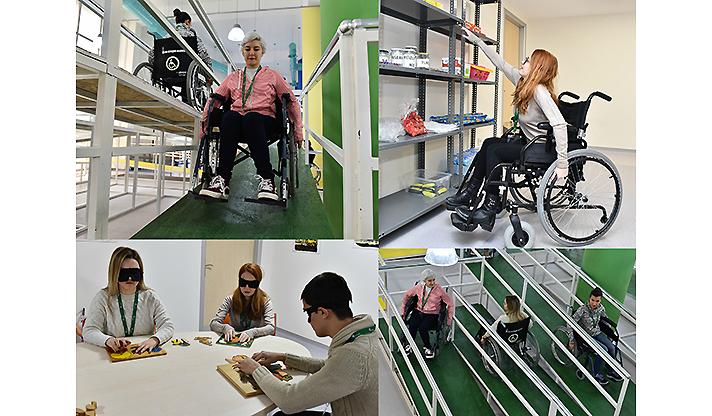 Türkiye'nin İlk Engelli Farkındalık Merkezini Mimar Adayları Ziyaret Etti