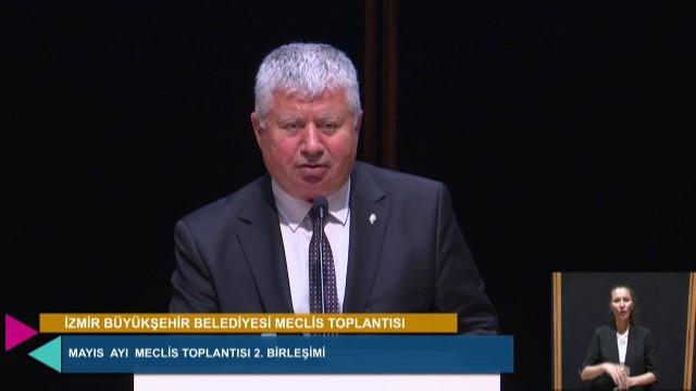 26 Mayıs 2021 İzmir Büyükşehir Belediyesi Meclisi