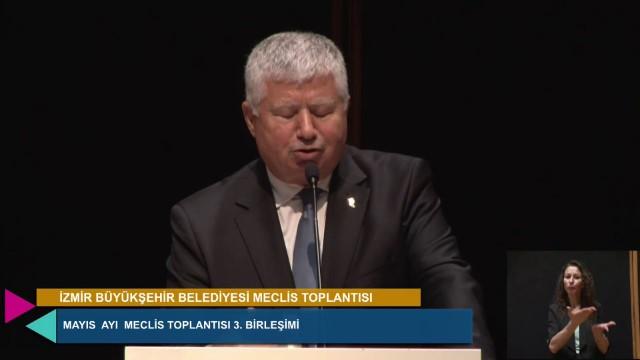 28 Mayıs 2021 İzmir Büyükşehir Belediyesi Meclisi