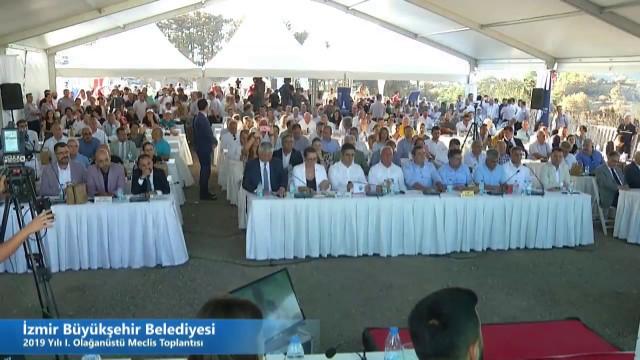 30 Ağustos 2019 İzmir Büyükşehir Belediyesi Olağanüstü Meclisi