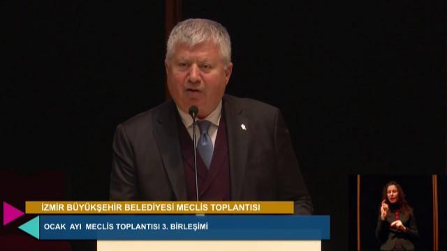 15 Ocak 2021 İzmir Büyükşehir Belediyesi Meclisi