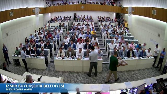 8 Temmuz 2019 İzmir Büyükşehir Belediyesi Meclisi