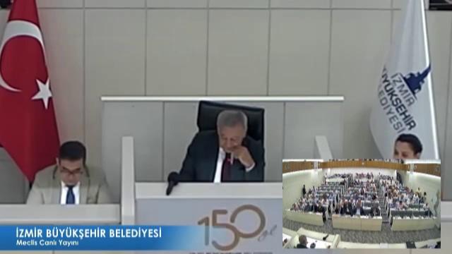 14 Eylül 2018 İzmir Büyükşehir Belediyesi Meclisi