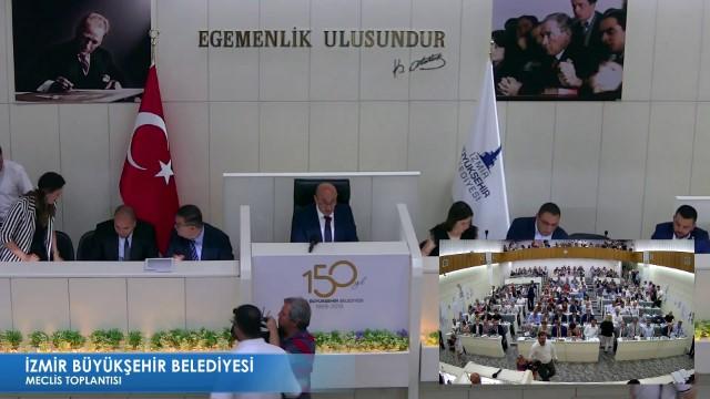 10 Haziran 2019 İzmir Büyükşehir Belediyesi Meclisi