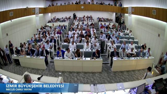10 Temmuz 2019 İzmir Büyükşehir Belediyesi Meclisi