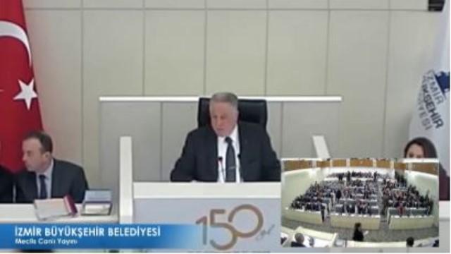 12 Ekim 2018 İzmir Büyükşehir Belediyesi Meclisi