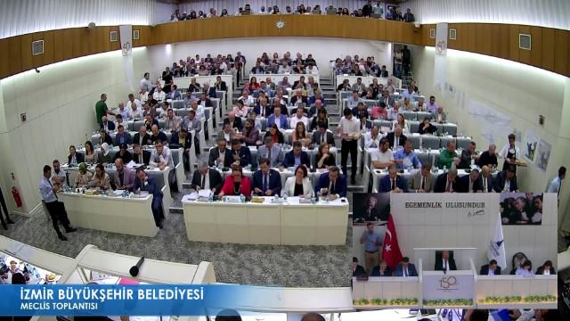 13 Eylül 2019 İzmir Büyükşehir Belediyesi Meclisi