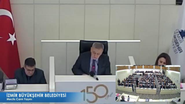 12 Şubat 2018 İzmir Büyükşehir Belediyesi Meclisi
