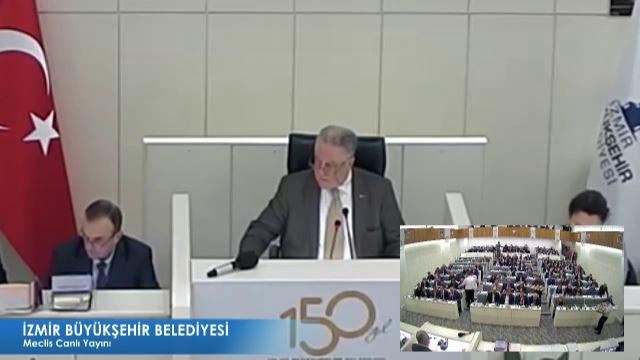 14 Şubat 2018 İzmir Büyükşehir Belediyesi Meclisi