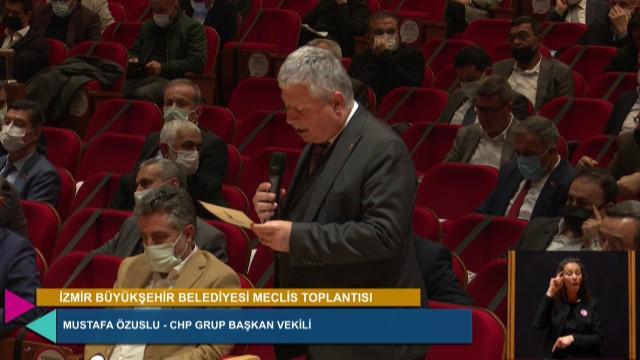 8 Mart 2021 İzmir Büyükşehir Belediyesi Meclisi