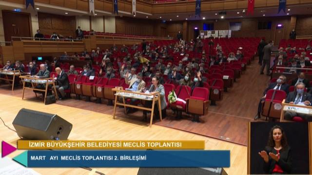 10 Mart 2021 İzmir Büyükşehir Belediyesi Meclisi