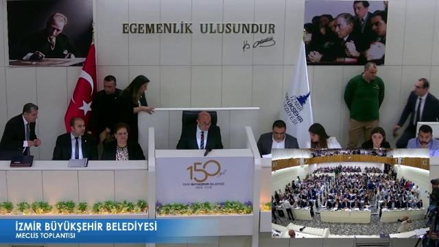 13 Mayıs 2019 İzmir Büyükşehir Belediyesi Meclisi