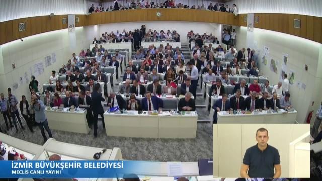 14 Ekim 2019 İzmir Büyükşehir Belediyesi Meclisi