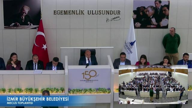 15 Mayıs 2019 İzmir Büyükşehir Belediyesi Meclisi