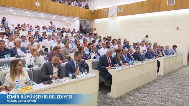 12 Temmuz 2019 İzmir Büyükşehir Belediyesi Meclisi