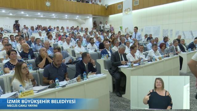 15 Ağustos 2019 İzmir Büyükşehir Belediyesi Meclisi