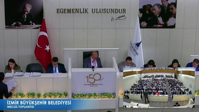 17 Mayıs 2019 İzmir Büyükşehir Belediyesi Meclisi