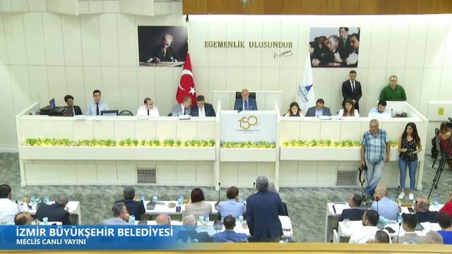 14 Haziran 2019 İzmir Büyükşehir Belediyesi Meclisi