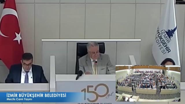 13 Ağustos 2018 İzmir Büyükşehir Belediyesi Meclisi