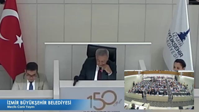 15 Ağustos 2018 İzmir Büyükşehir Belediyesi Meclisi