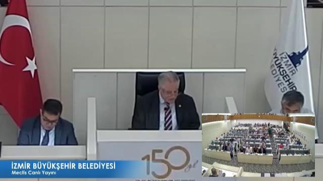 16 Ağustos 2018 İzmir Büyükşehir Belediyesi Meclisi