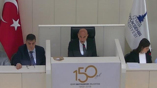 17 Nisan 2019 İzmir Büyükşehir Belediyesi Meclisi