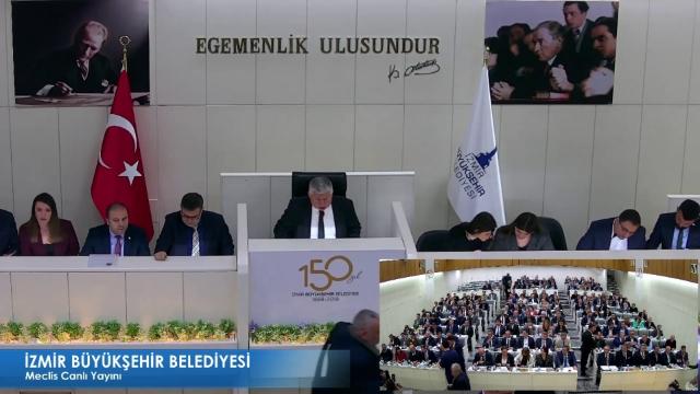 19 Nisan 2019 İzmir Büyükşehir Belediyesi Meclisi