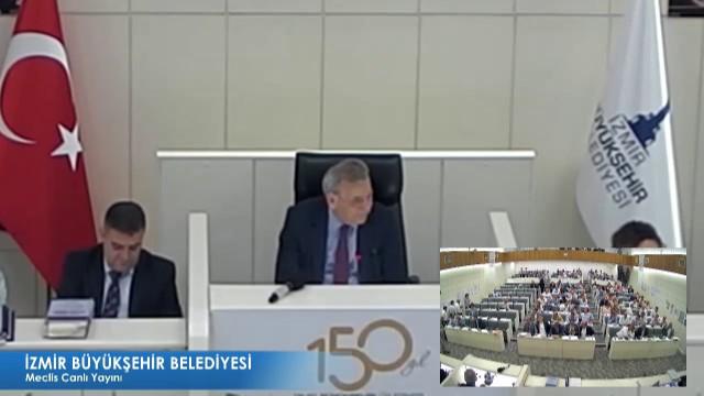 11 Haziran 2018 İzmir Büyükşehir Belediyesi Meclisi