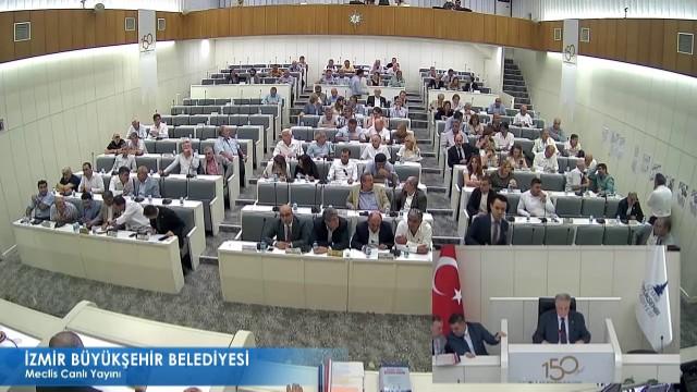 13 Haziran 2018 İzmir Büyükşehir Belediyesi Meclisi