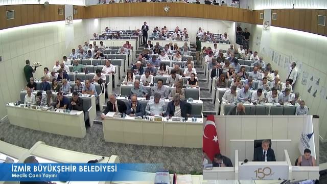 9 Temmuz 2018 İzmir Büyükşehir Belediyesi Meclisi