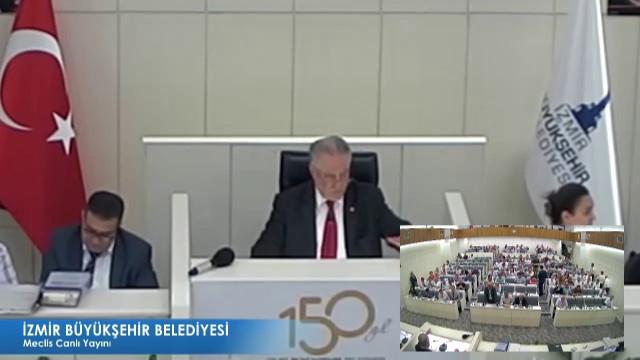 11 Temmuz 2018 İzmir Büyükşehir Belediyesi Meclisi