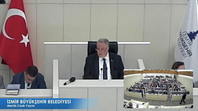 11 Ekim 2017 İzmir Büyükşehir Belediyesi Meclisi