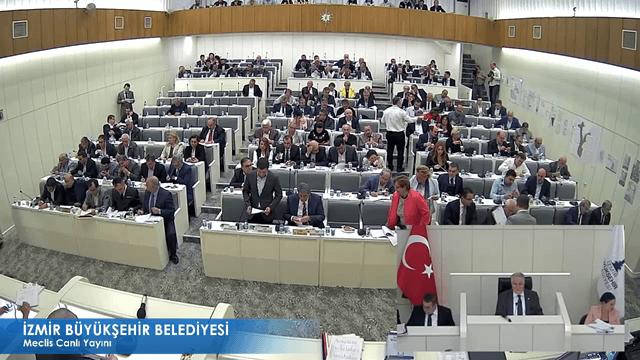 13 Ekim 2017 İzmir Büyükşehir Belediyesi Meclisi