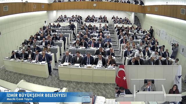 13 Kasım 2017 İzmir Büyükşehir Belediyesi Meclisi