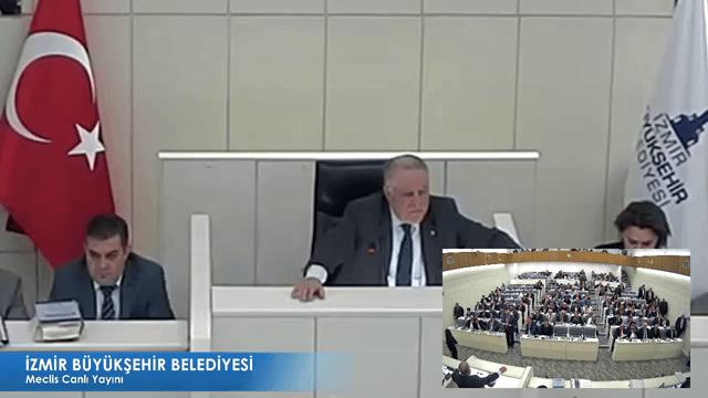 15 Kasım 2017 İzmir Büyükşehir Belediyesi Meclisi