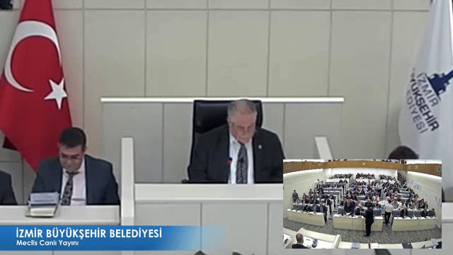 17 Kasım 2017 İzmir Büyükşehir Belediyesi Meclisi