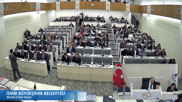 22 Kasım 2017 İzmir Büyükşehir Belediyesi Meclisi
