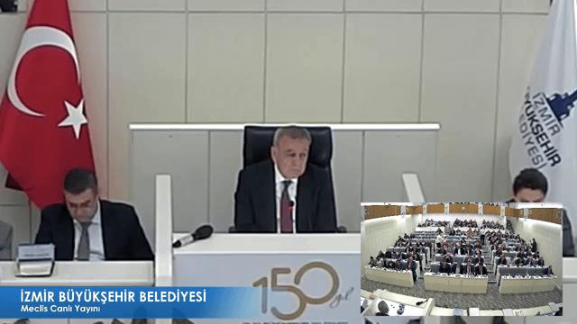 28 Kasım 2017 İzmir Büyükşehir Belediyesi Meclisi