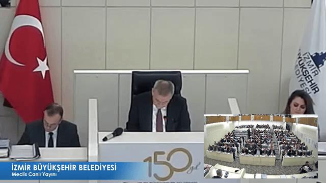 11 Aralık 2017 İzmir Büyükşehir Belediyesi Meclisi