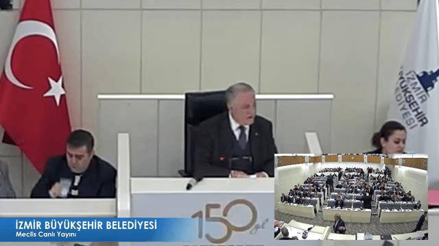 13 Aralık 2017 İzmir Büyükşehir Belediyesi Meclisi