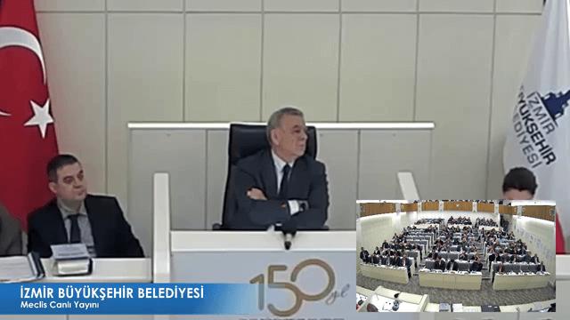 15 Aralık 2017 İzmir Büyükşehir Belediyesi Meclisi
