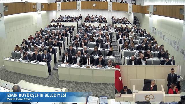 8 Ocak 2018 İzmir Büyükşehir Belediyesi Meclisi