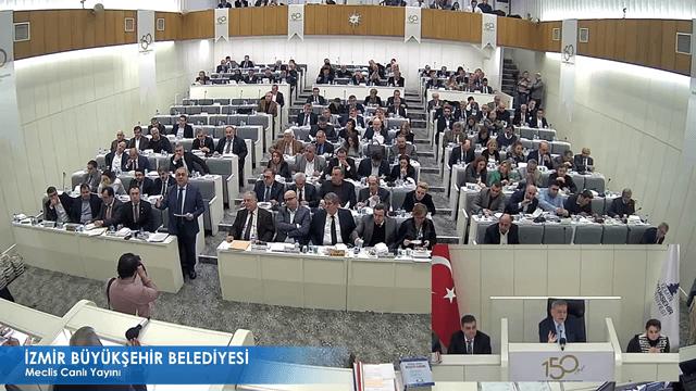 10 Ocak 2018 İzmir Büyükşehir Belediyesi Meclisi