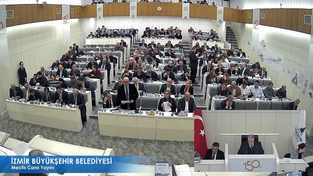 12 Ocak 2018 İzmir Büyükşehir Belediyesi Meclisi