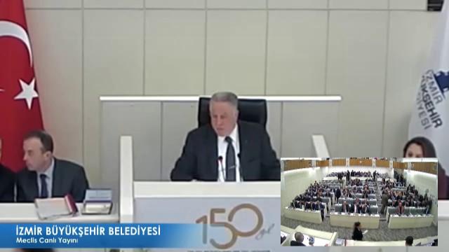 16 Şubat 2018 İzmir Büyükşehir Belediyesi Meclisi