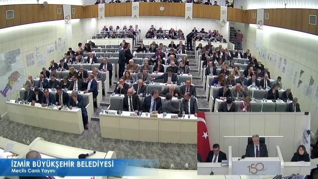 12 Mart 2018 İzmir Büyükşehir Belediyesi Meclisi