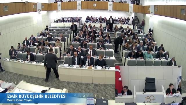 14 Mart 2018 İzmir Büyükşehir Belediyesi Meclisi