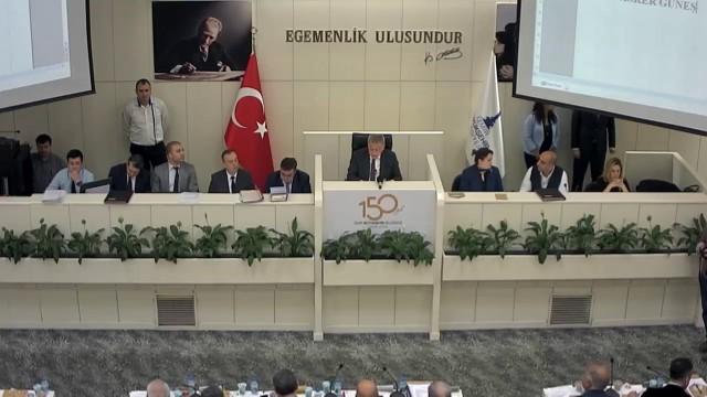 9 Nisan 2018 İzmir Büyükşehir Belediyesi Meclisi