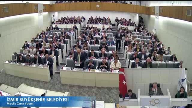 11 Nisan 2018 İzmir Büyükşehir Belediyesi Meclisi