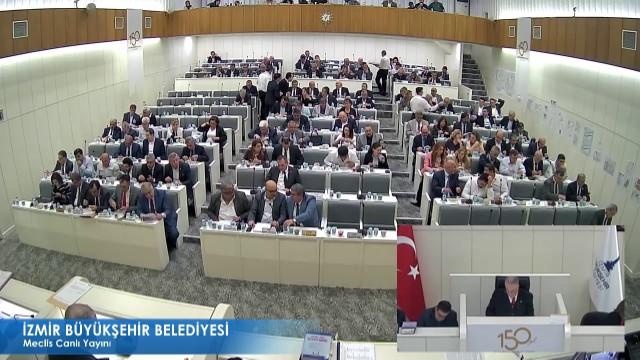13 Nisan 2018 İzmir Büyükşehir Belediye Meclisi